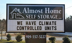 almost home self storage fuquay-varina